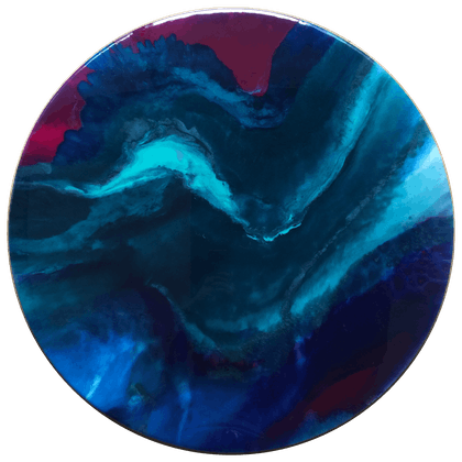 (CreativeWork) INFINITY Resin Art by Fujan Willemse. resin. Shop online at Bluethumb.