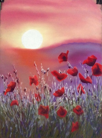 (CreativeWork) We will Remember by Jen Jones. drawing. Shop online at Bluethumb.