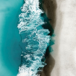 (CreativeWork) Sydney Surf Ed. 3 of 25 by Martine Vanderspuy. print. Shop online at Bluethumb.