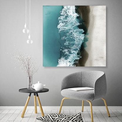 (CreativeWork) Sydney Surf Ed. 3 of 25 by Martine Vanderspuy. Reproduction Print. Shop online at Bluethumb.