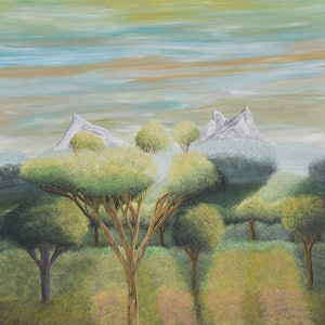 (CreativeWork) Journey by Brandon Wockner. arcylic-painting. Shop online at Bluethumb.