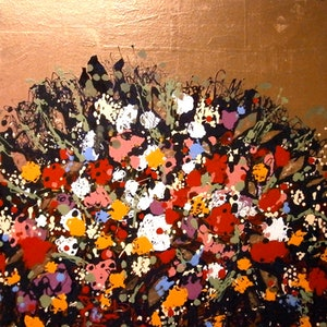 (CreativeWork) ''Flowers of Romance'' by Andrew J Pearson. Oil Paint. Shop online at Bluethumb.