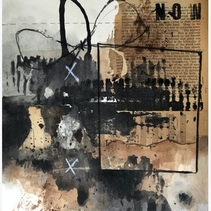 (CreativeWork) THE THINGS THAT ARE [ 2018 ] by G Kustom Kuhl. mixed-media. Shop online at Bluethumb.