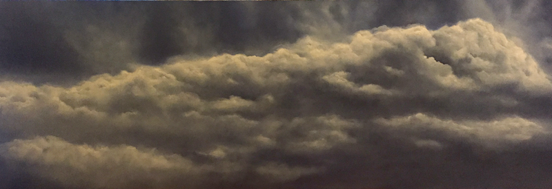 (CreativeWork) Tempest by Gerlinde Thomas. Oil Paint. Shop online at Bluethumb.