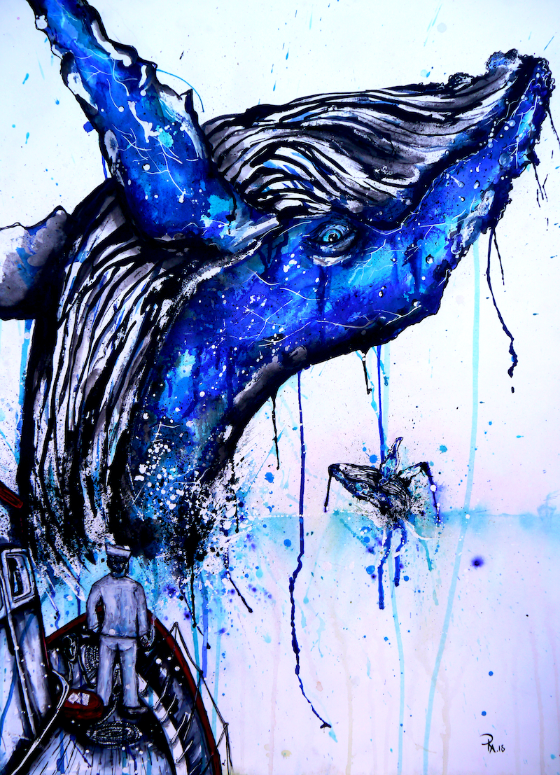 (CreativeWork) You are not alone by Kelly-Anne Love. Watercolour Paint. Shop online at Bluethumb.