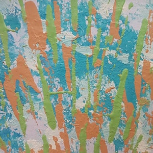 (CreativeWork) Reeds & Rushes by Jack Moon. arcylic-painting. Shop online at Bluethumb.