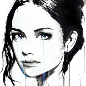(CreativeWork) ELYSEES by loui jover. drawing. Shop online at Bluethumb.