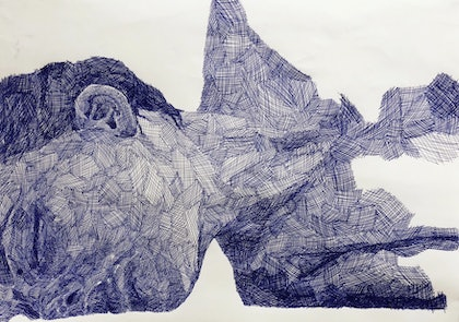 (CreativeWork) Relapse by Olivia Kate Biasin. drawing. Shop online at Bluethumb.