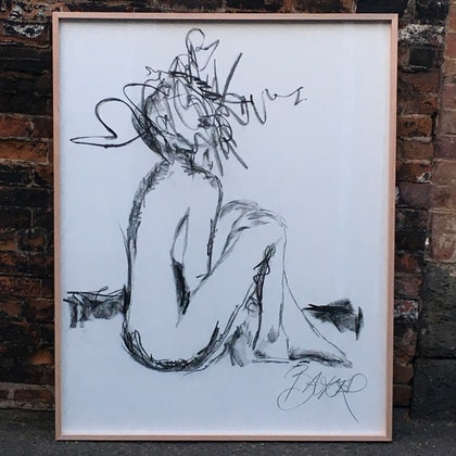 (CreativeWork) Blank Space by Baker Collection. drawing. Shop online at Bluethumb.