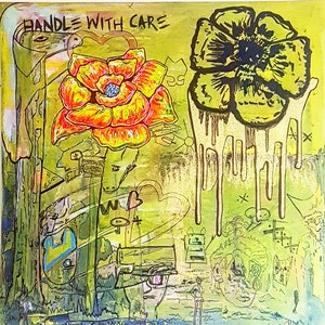 (CreativeWork) HANDLE WITH CARE by Bianca Werneburg. arcylic-painting. Shop online at Bluethumb.