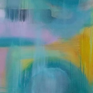 (CreativeWork) CALLING by Alison Duke. acrylic-painting. Shop online at Bluethumb.