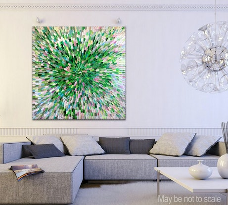 (CreativeWork) Photosynthesis III by Tatiana Georgieva. Acrylic Paint. Shop online at Bluethumb.