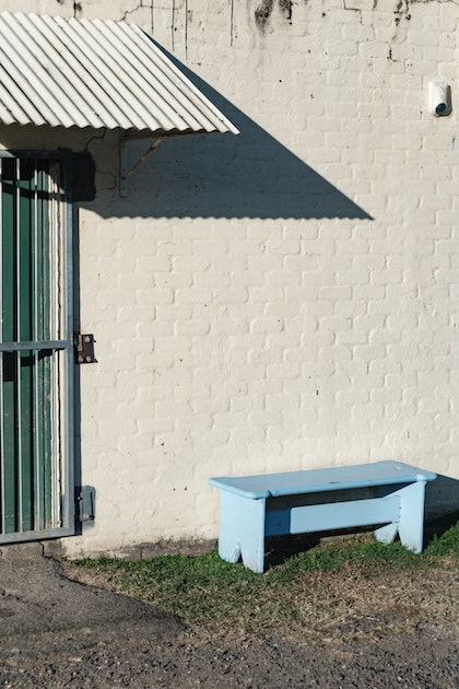 (CreativeWork) Murwillumbah Sports Park Bench by Dale Harper. photograph. Shop online at Bluethumb.