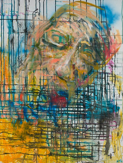 (CreativeWork) Fragmented Mind Ed. 7 of 100 by Carmel Sayer. print. Shop online at Bluethumb.