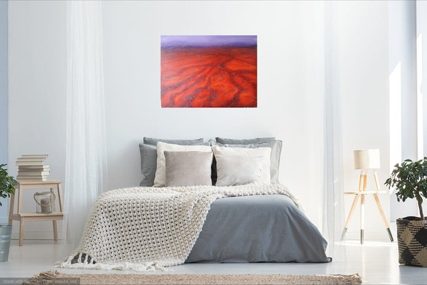 (CreativeWork) Saltbush by Lily Day. Acrylic Paint. Shop online at Bluethumb.