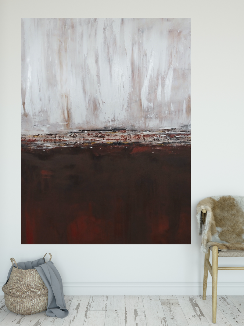 (CreativeWork) Red Earth by Artisan Corner. mixed-media. Shop online at Bluethumb.