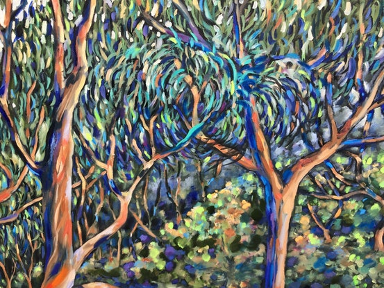 (CreativeWork) The mighty Angophora 3 by sue bannister. #<Filter:0x00007f1f5c89f3f0>. Shop online at Bluethumb.
