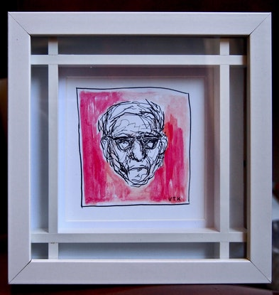 (CreativeWork) Red by Victoria ter Kuile. Drawings. Shop online at Bluethumb.