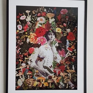 (CreativeWork) 'Olympia (after Manet) #3 -  artist print Ed. 1 of 1 by Karen Coull. print. Shop online at Bluethumb.