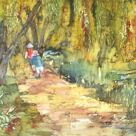 (CreativeWork) EXPLORING by Carole Osmotherly. Other Media. Shop online at Bluethumb.