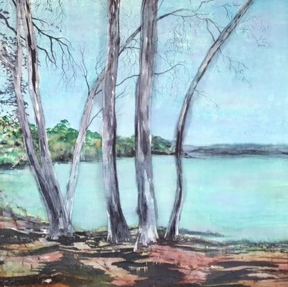 (CreativeWork) THE BAY by Carole Osmotherly. Other Media. Shop online at Bluethumb.