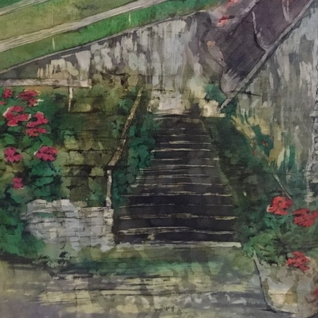 (CreativeWork) THE STEPS by Carole Osmotherly. Other Media. Shop online at Bluethumb.