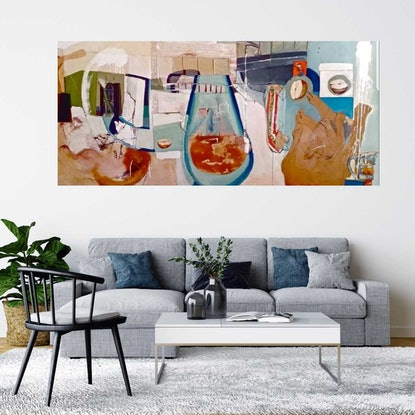 (CreativeWork) Beach House at San Remo. Victoria  by Timothy Dell. Other Media. Shop online at Bluethumb.
