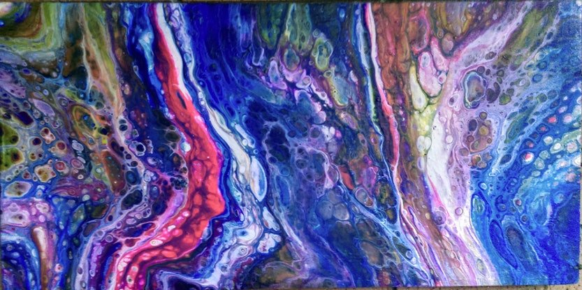 (CreativeWork) Untitled by Damien Vella-Critien. Acrylic Paint. Shop online at Bluethumb.