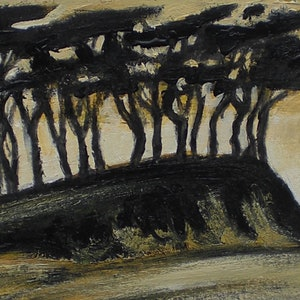 (CreativeWork) Copse of gums by Jordi Casasayas. drawing. Shop online at Bluethumb.