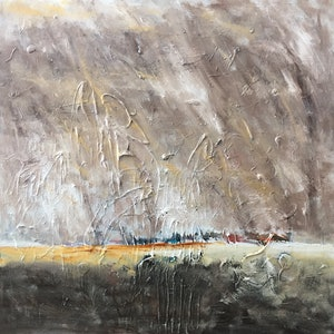 (CreativeWork) Dust Storm by Oliver Baxter. arcylic-painting. Shop online at Bluethumb.