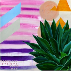 (CreativeWork) Find you calm by Tamara Armstrong. arcylic-painting. Shop online at Bluethumb.