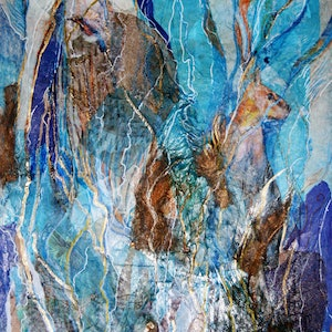 (CreativeWork) Vanishing by Ann Russell. mixed-media. Shop online at Bluethumb.
