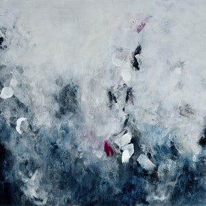 (CreativeWork) Night Whispers by Yara Seremuk. arcylic-painting. Shop online at Bluethumb.