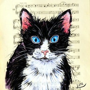 (CreativeWork) MEOW by Luna Vermeulen. arcylic-painting. Shop online at Bluethumb.