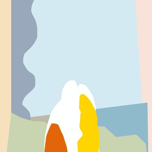 (CreativeWork) picnic at hanging rock Ed. 1 of 5 by MAY BLUEBELL. print. Shop online at Bluethumb.