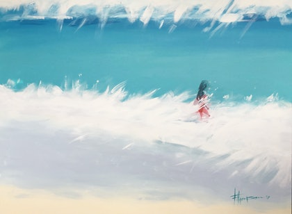 (CreativeWork) Perfect Day by Fred Thompson. arcylic-painting. Shop online at Bluethumb.