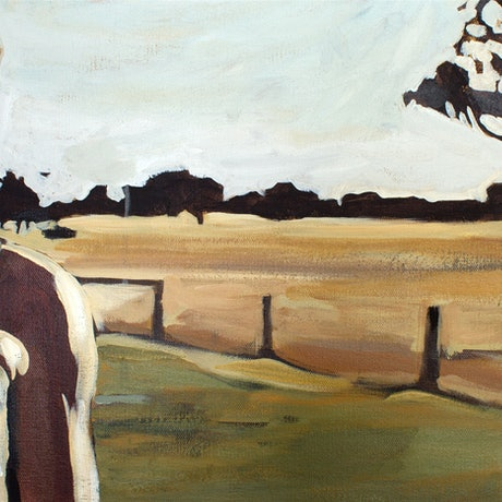 (CreativeWork) Home by Nicole Frankel. Acrylic. Shop online at Bluethumb.