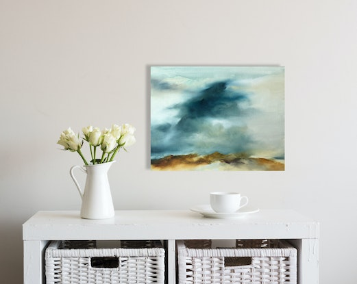 (CreativeWork) Summer Morning by Joanne Duffy. Oil Paint. Shop online at Bluethumb.