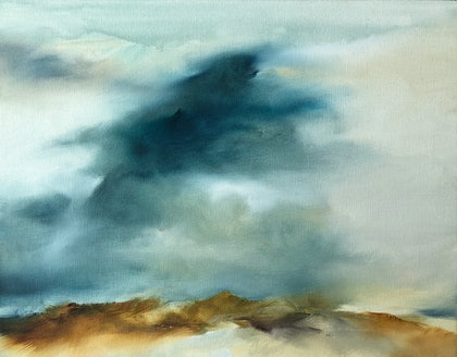 (CreativeWork) Summer Morning by Joanne Duffy. oil-painting. Shop online at Bluethumb.