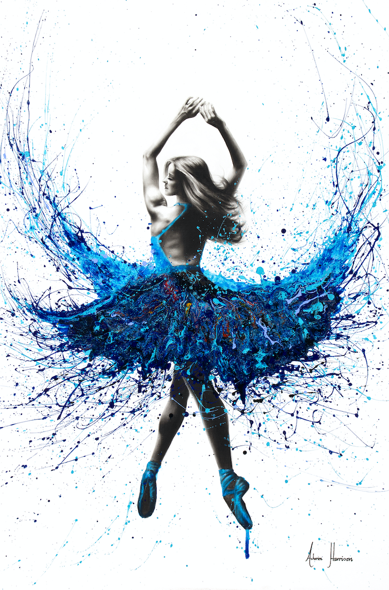 (CreativeWork) Bristol Dancer- Commission by Ashvin Harrison. arcylic-painting. Shop online at Bluethumb.