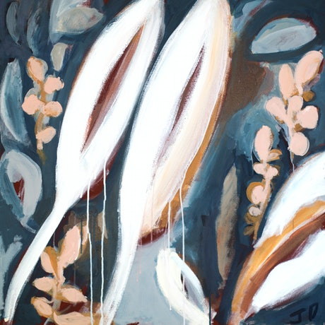 (CreativeWork) Spears  - Original Painting   by Jacqui Doran. Acrylic Paint. Shop online at Bluethumb.