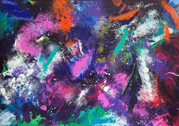 (CreativeWork) CONFLICTING EMOTIONS by Thomas Robson. Mixed Media. Shop online at Bluethumb.