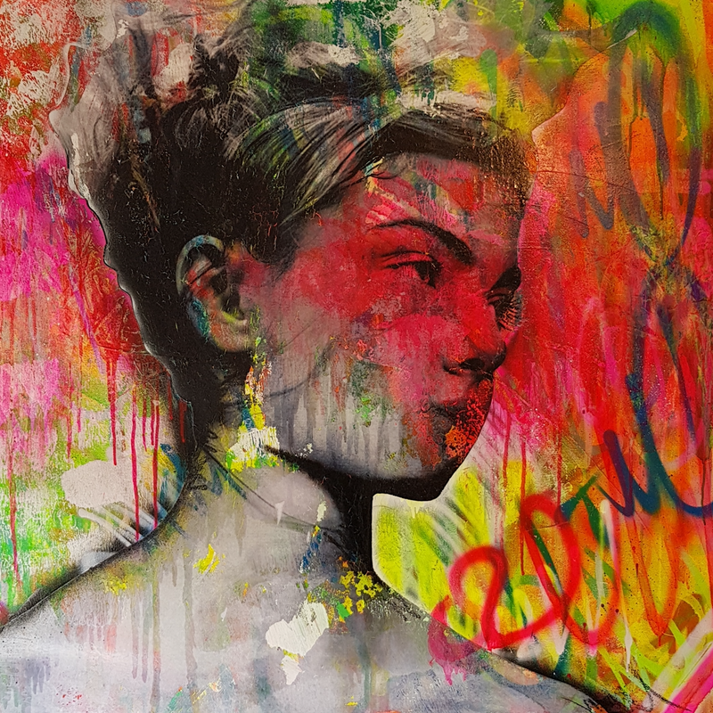 (CreativeWork) Magdalena by Adam Craemer. mixed-media. Shop online at Bluethumb.