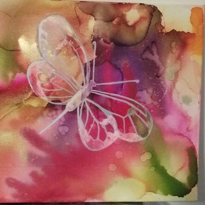 (CreativeWork) Butterfly  by Ayomi Melanie. other-media. Shop online at Bluethumb.