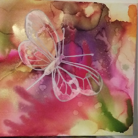 (CreativeWork) Butterfly  by Ayomi Melanie. Other Media. Shop online at Bluethumb.