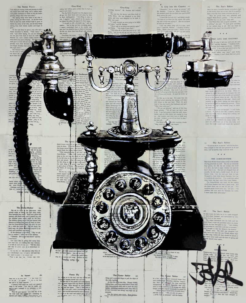 (CreativeWork) RING RING by loui jover. Drawings. Shop online at Bluethumb.