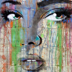 (CreativeWork) NEBULA by loui jover. drawing. Shop online at Bluethumb.