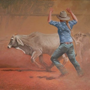 (CreativeWork) Sorting by Paul Bennett. oil-painting. Shop online at Bluethumb.