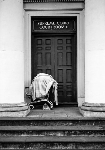 (CreativeWork) Justice by Alex Frayne. photograph. Shop online at Bluethumb.