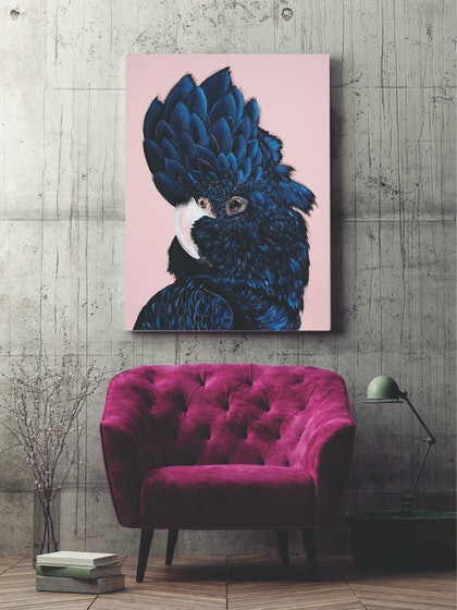 (CreativeWork) ALVA Limited Edition Canvas Ed. 7 of 100 by HEYLIE MORRIS. print. Shop online at Bluethumb.